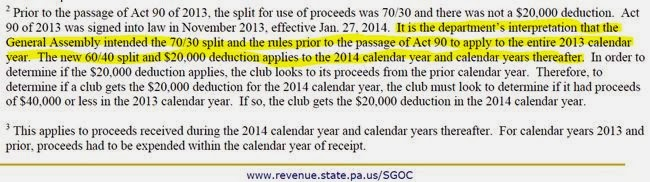 "Calendar Year Legal Definition : ""pa sgoc split is for entire calendar year pa"